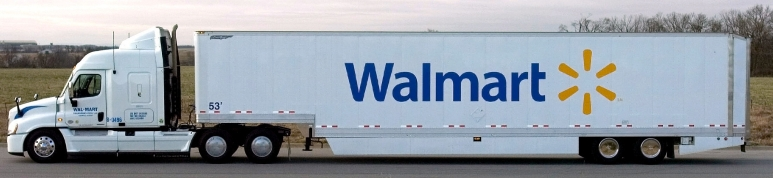 Walmart of Bentonville, USA; CC BY 2.0; Uploaded to Wikimedia Commons by Magnolia677 https://commons.wikimedia.org/wiki/File:Walmart%E2%80%99s_Grease_Fuel_Truck.jpg; Created 13 March 2009